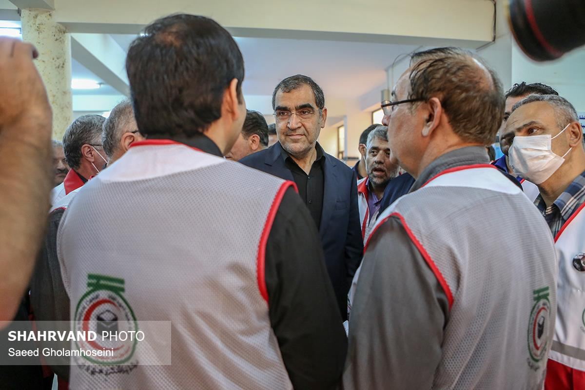 بازید وزیر بهداشت از بیمارستان الحسین هلال احمر در کربلا