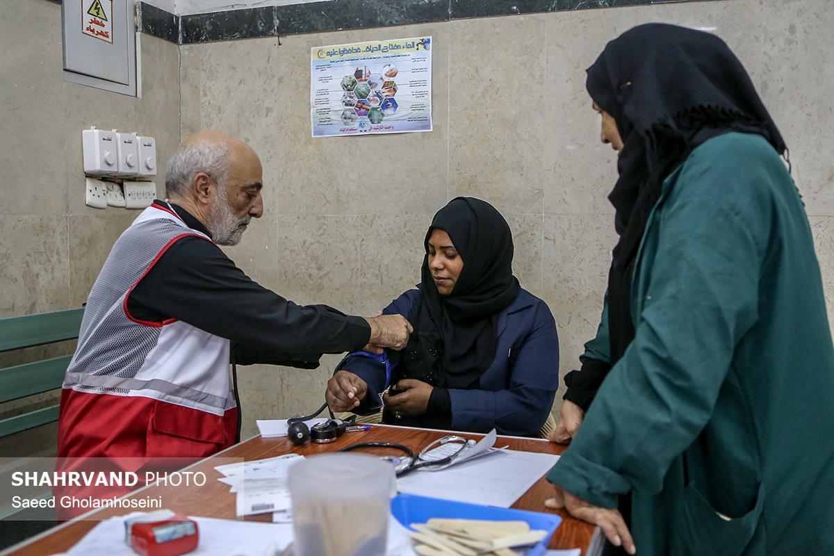 بیمارستان الحسین هلال احمر در کربلا
