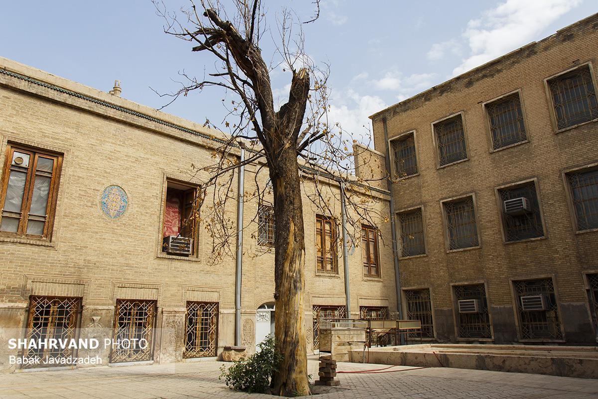 بازدید خبرنگاران از خانه تاریخی ملک