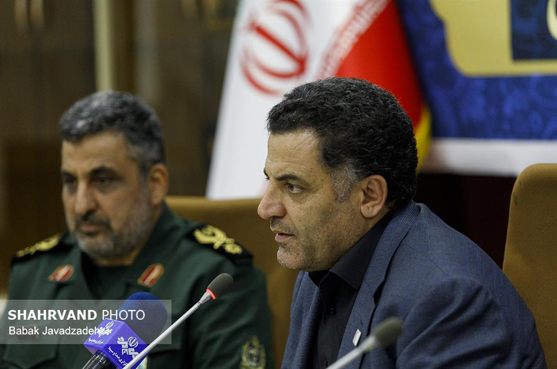 امضای تفاهم نامه همکاری میان جمعیت هلال احمر و ستادکل نیروهای مسلح